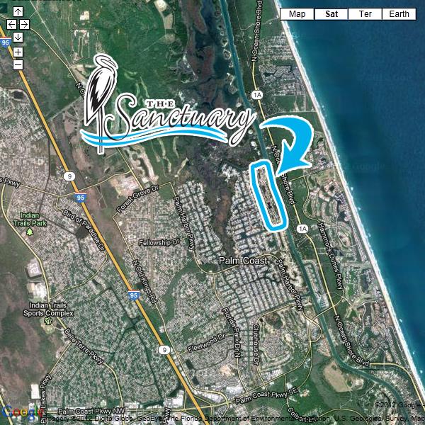 Map Of Palm Coast Florida.Layout Map For The Sanctuary Palm Coast Fl